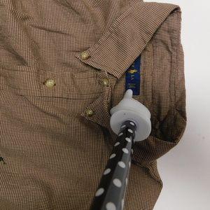 Ralph Lauren Shirts - Ralph Lauren 2XL Brown Button Down Shirt  Cotton
